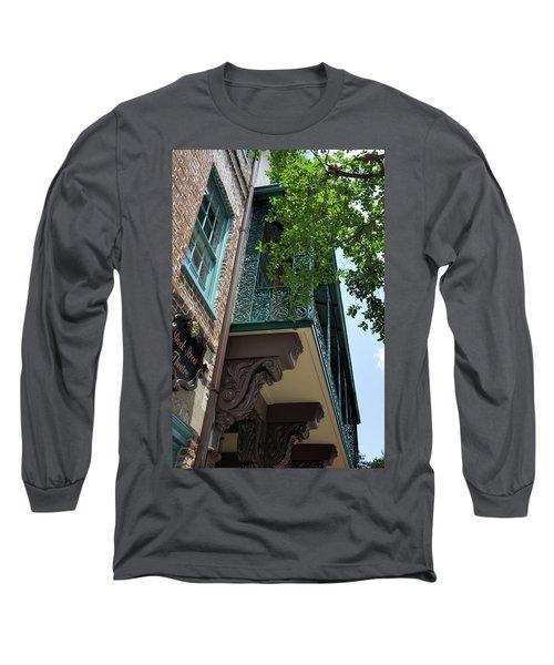 The Dock Long Sleeve T-Shirt by Ed Waldrop