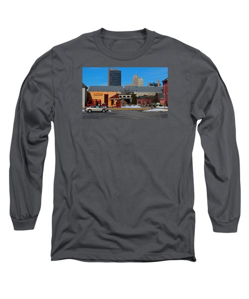 Long Sleeve T-Shirt featuring the photograph The Docks by Michiale Schneider