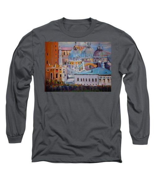 The Domes In Italy Long Sleeve T-Shirt
