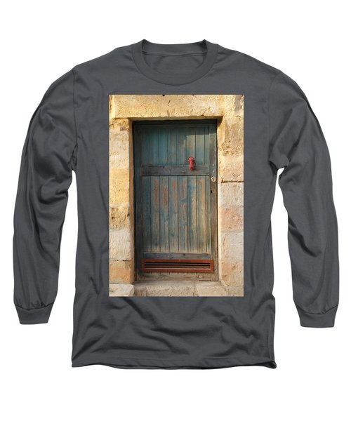 The Door And The Hand Long Sleeve T-Shirt by Yoel Koskas