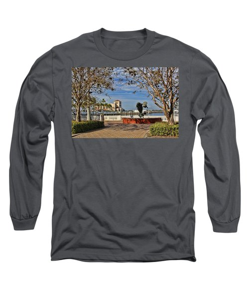 The Downtown Bradenton Waterfront Long Sleeve T-Shirt
