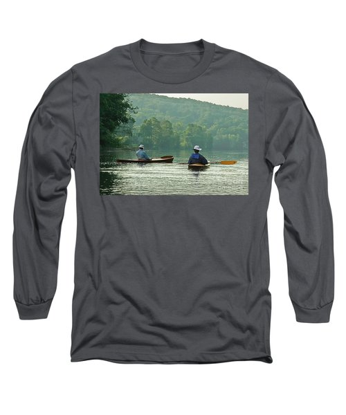Long Sleeve T-Shirt featuring the photograph The Dreamers by Tom Cameron