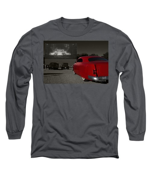 The Drive-in Long Sleeve T-Shirt by Dennis Hedberg