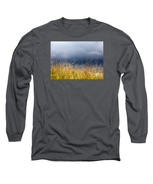 Long Sleeve T-Shirt featuring the photograph The Tall Grass Waves In The Wind by Dana DiPasquale
