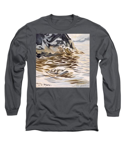 The Eagles Nest At Gower Point Long Sleeve T-Shirt