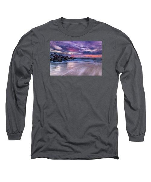 The Edge - Folly Beach, Sc Long Sleeve T-Shirt