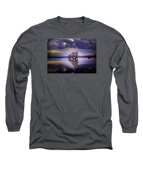 The Edge Of Sunset Long Sleeve T-Shirt