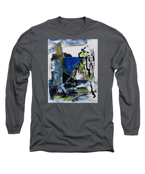 Long Sleeve T-Shirt featuring the painting The Elements by Betty Pieper