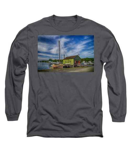 The Emma C. Berry, Mystic Seaport Museum Long Sleeve T-Shirt