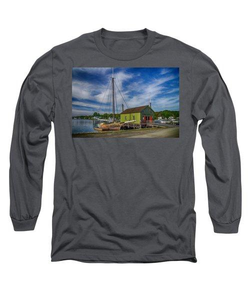 The Emma C. Berry, Mystic Seaport Museum Long Sleeve T-Shirt