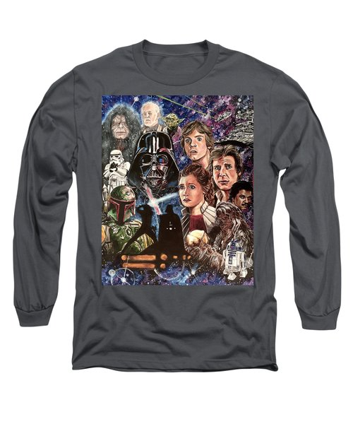 The Empire Strikes Back Long Sleeve T-Shirt