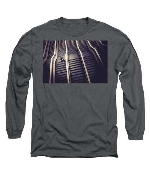 The Empty Train Long Sleeve T-Shirt