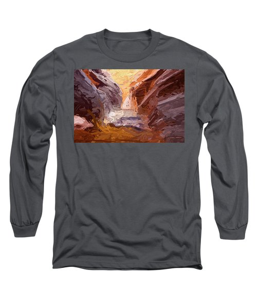 The Encroaching Ocean Long Sleeve T-Shirt