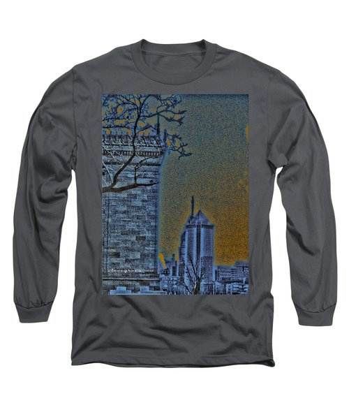 The Encroachment Upon Art Long Sleeve T-Shirt