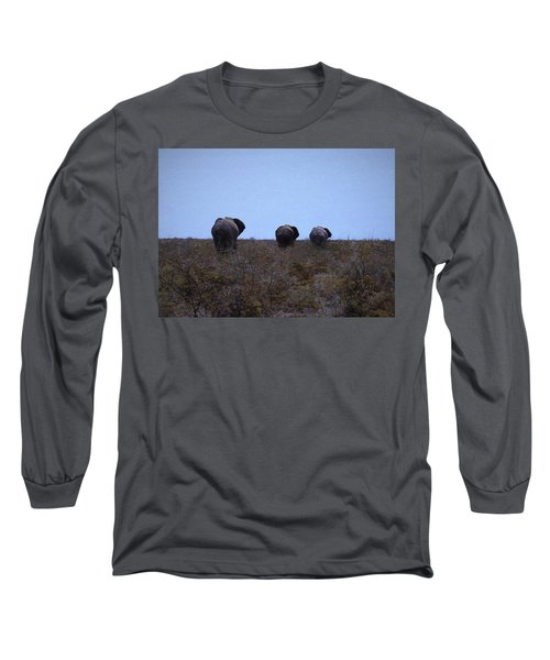 The End Long Sleeve T-Shirt by Ernie Echols