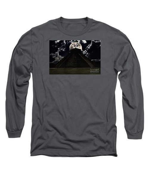 The End Long Sleeve T-Shirt by Ken Frischkorn