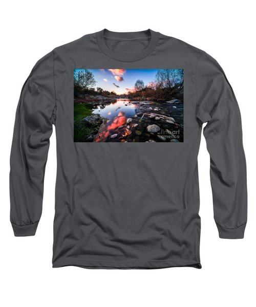 The End Of Autumn Long Sleeve T-Shirt by Giuseppe Torre