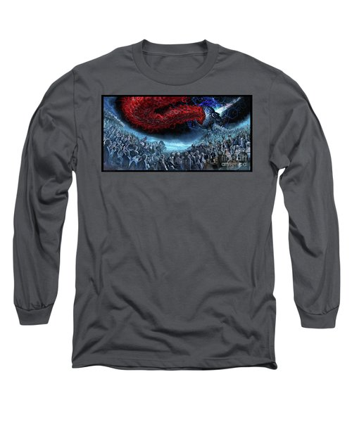 The Essence Of Time Matches No Flesh Long Sleeve T-Shirt