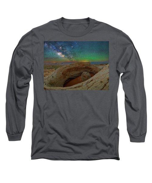 The Eye Of Earth Long Sleeve T-Shirt