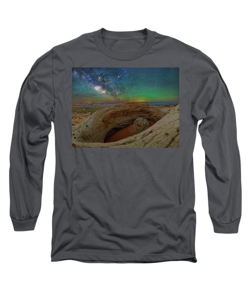 The Eye Of Earth Long Sleeve T-Shirt