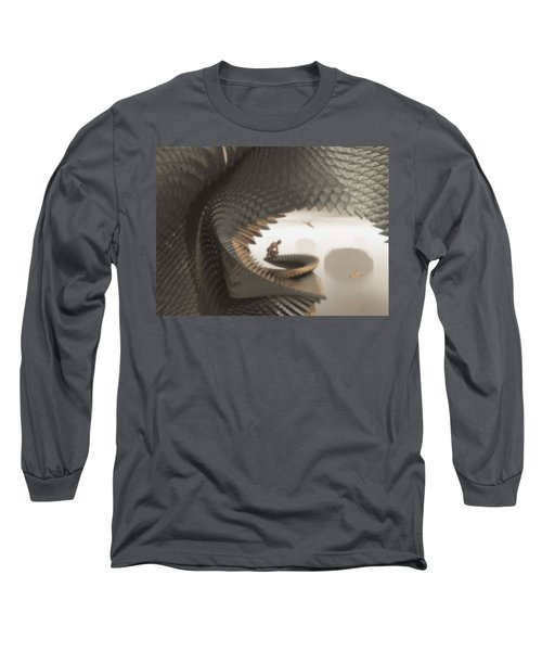 The Eyrie Long Sleeve T-Shirt by John Alexander
