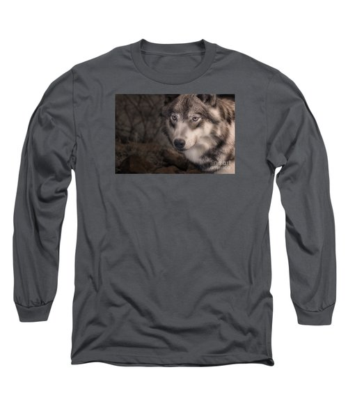 The Face Of Teton Long Sleeve T-Shirt by William Fields