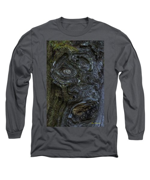 The Face Signed Long Sleeve T-Shirt