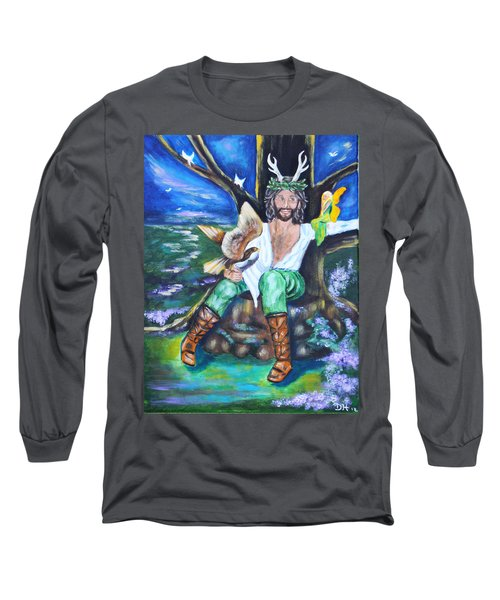 The Faery King Long Sleeve T-Shirt