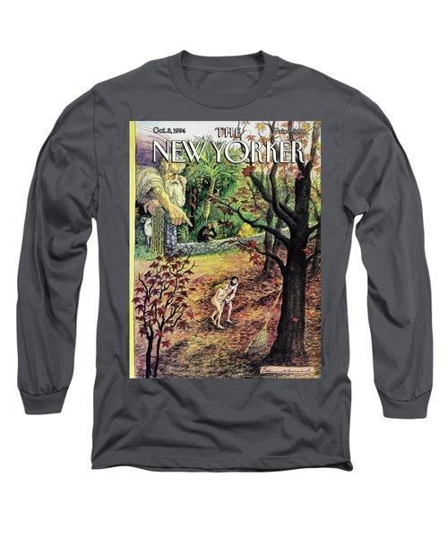 New Yorker October 3rd, 1994 Long Sleeve T-Shirt