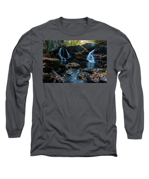 The Falls Of Black Creek In Autumn IIi Long Sleeve T-Shirt