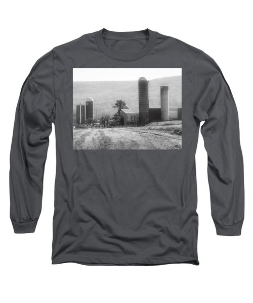 The Farm-after Harvest Long Sleeve T-Shirt by Robin Regan