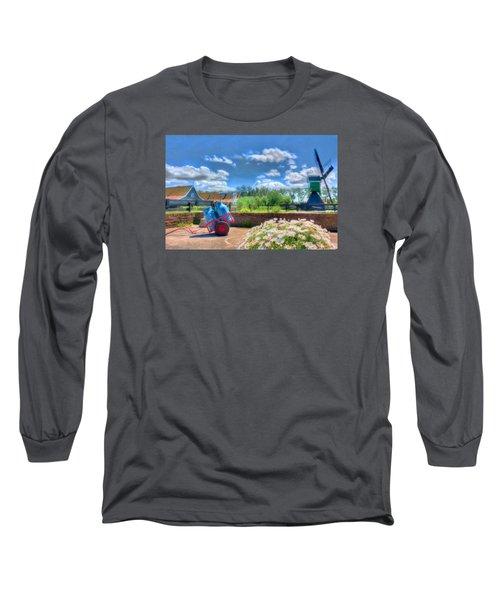 The Farm Long Sleeve T-Shirt by Nadia Sanowar