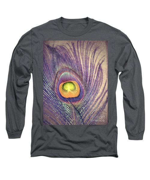 The Feather In Colour Long Sleeve T-Shirt