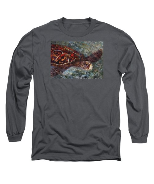 The First Honu Long Sleeve T-Shirt by Kerri Ligatich