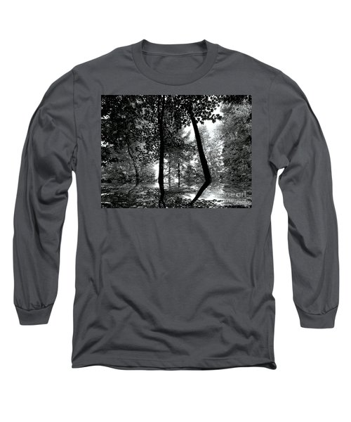 Long Sleeve T-Shirt featuring the photograph The Forest by Elfriede Fulda