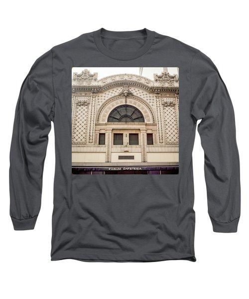 The Forum Cafeteria Facade Long Sleeve T-Shirt