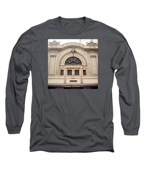 The Forum Cafeteria Facade Long Sleeve T-Shirt