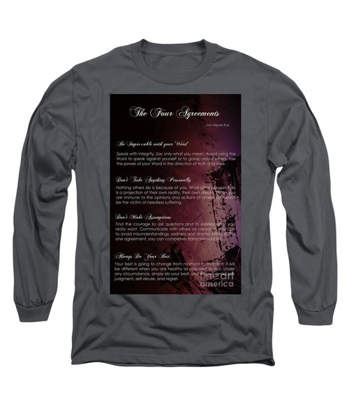 The Four Agreements 3 Long Sleeve T-Shirt