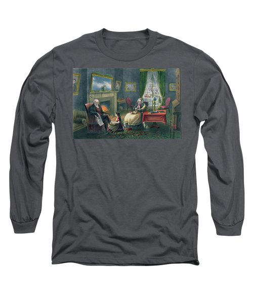 The Four Seasons Of Life  Old Age Long Sleeve T-Shirt