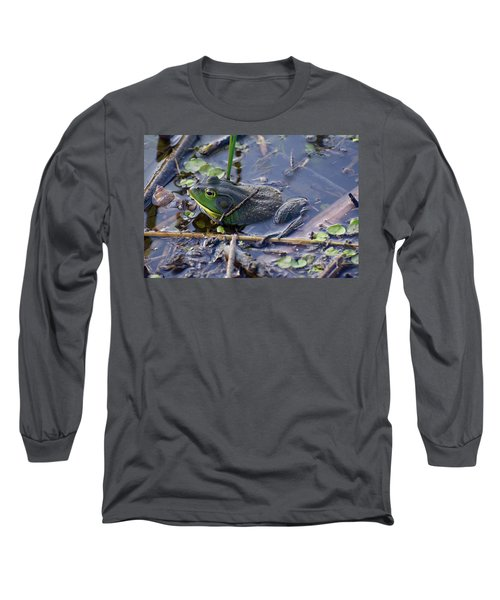 The Frog Remains Long Sleeve T-Shirt