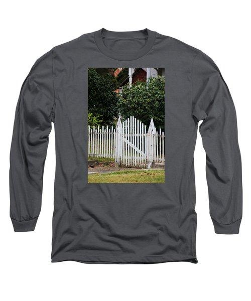 The Front Gate Long Sleeve T-Shirt by Lynn Jordan