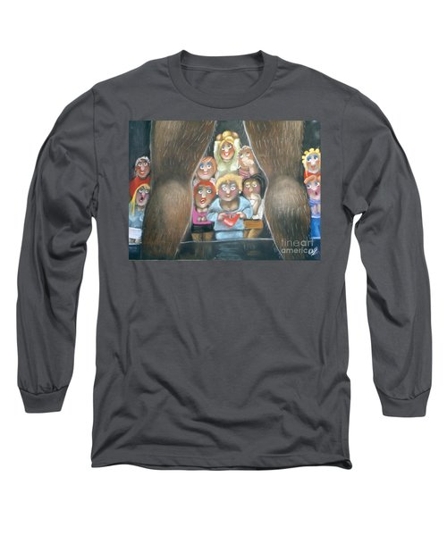 The Full Monty Long Sleeve T-Shirt