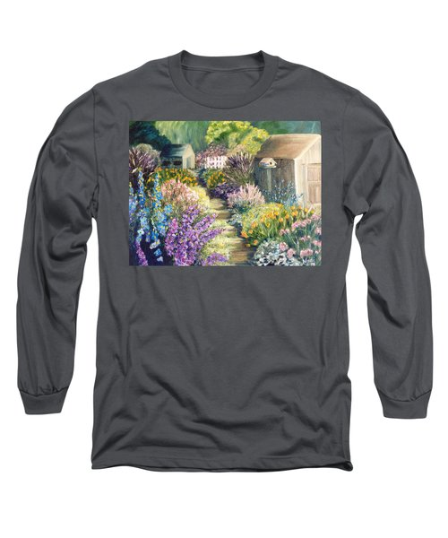 The Garden Path Long Sleeve T-Shirt by Renate Nadi Wesley