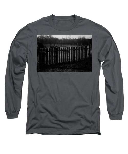 Long Sleeve T-Shirt featuring the photograph The Gardengate by Mimulux patricia no No