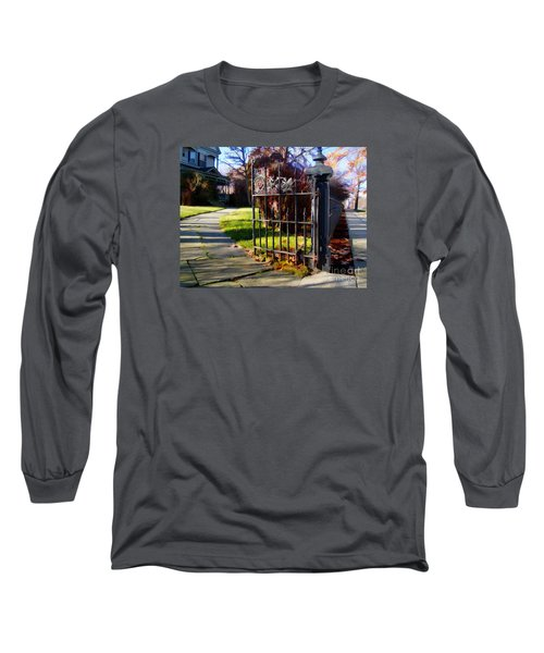 Long Sleeve T-Shirt featuring the photograph The Gate by Betsy Zimmerli
