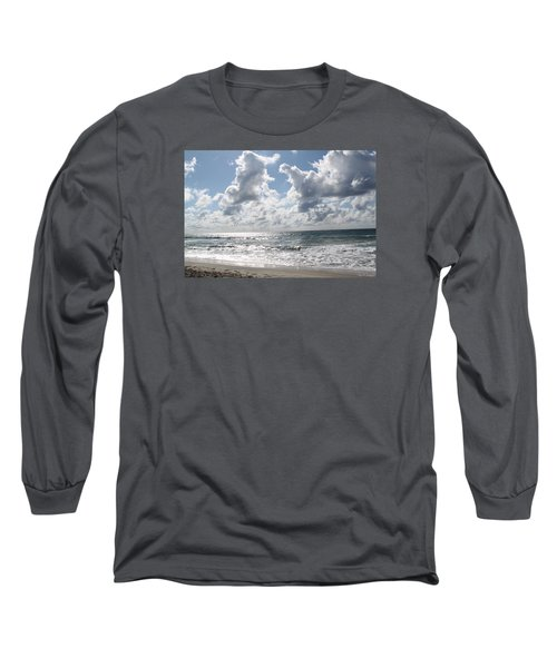 The Gate Way To Heaven Long Sleeve T-Shirt by Amy Gallagher