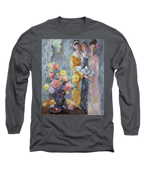 The Gathering Long Sleeve T-Shirt by Sharon Furner