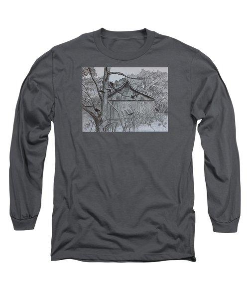 The Gathering  Long Sleeve T-Shirt by Tony Clark