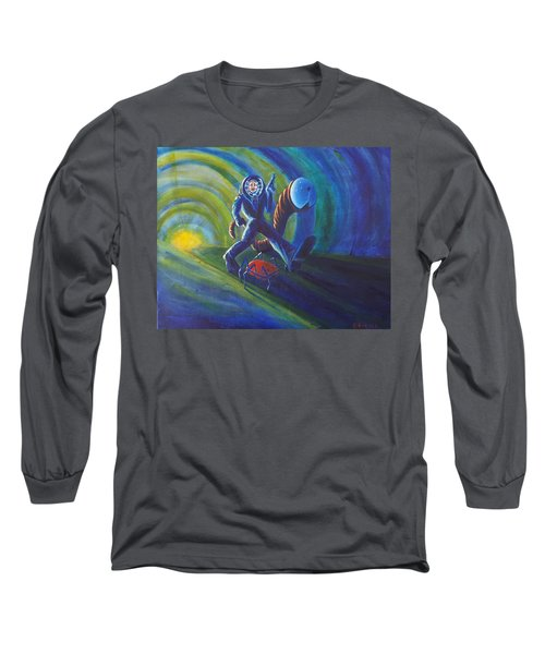 The Getaway Long Sleeve T-Shirt by Chris Benice