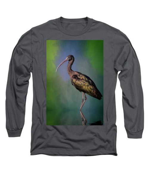The Glossy Ibis Stroll Long Sleeve T-Shirt
